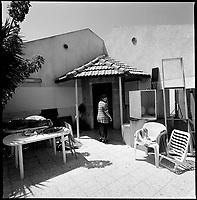 Newe Dekalim Settlement, Gaza strip Israel, Aug. 2005..Last hours in the home.