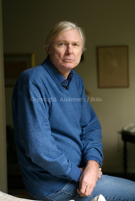 David Mc Neil, French writer, at home in 2009.