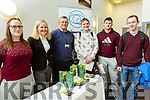 At the ITT  Careers Fair on Tuesday were Grace Kerins, Emer O Connor, Joe O Flaherty, Darren Moriarty, Ronan Parkinson, Gerard Ryan