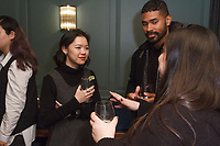 Guests attend the Exley NB Fall Winter 2017 collection fashion presentation by Annie Campbell, at The Soho House in New York City on March 7, 2017.