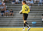 2 September 2007: North Carolina's Tyler Deric. The University of North Carolina Tar Heels tied the Old Dominion University Monarchs 1-1 at Fetzer Field in Chapel Hill, North Carolina in an NCAA Division I Men's Soccer game.