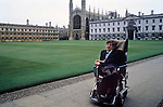 STEPHEN HAWKING CAMBRIDGE UNIVERSITY 1980'S