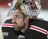 Marco De Filippo (Brown - 31) - The visiting Brown University Bears defeated the Harvard University Crimson 2-0 on Saturday, February 22, 2014 at the Bright-Landry Hockey Center in Cambridge, Massachusetts.