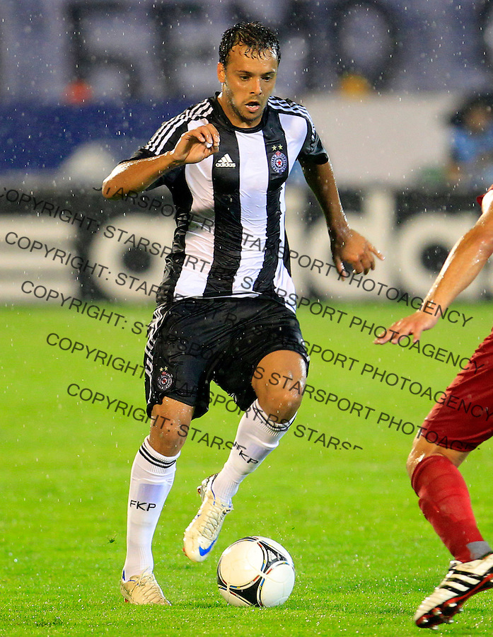Nemanja Tomic, Partizan vs Valletta UEFA Champions League 2nd Qualifying Round 2nd Leg 24.7.2012. Belgrade Serbia, Valeta, Beograd Srbija (photo: Pedja Milosavljevic / thepedja@gmail.com / +381641260959)