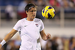 15 December 2012: Abby Wambach (USA). The United States Women's National Team played the China Women's National Team at FAU Stadium in Boca Raton, Florida in a women's international friendly soccer match. The U.S. won the game 4-1.