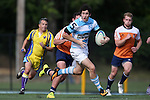 27 September 2014: North Carolina's Dan Hudgens. The University of North Carolina Tar Heels hosted the University of Virginia Cavaliers at Hooker Field in Chapel Hill, NC in a 2014-15 USA College Rugby match. North Carolina won the game 27-12.