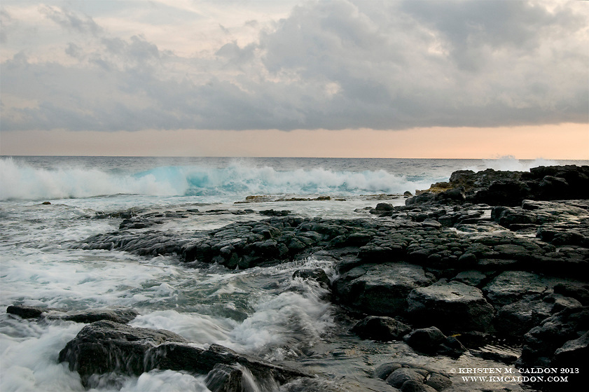 The very first people to set foot upon the Islands of Hawaii landed here on this rough shoreline in the 3rd century.