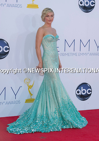 "JULIANNE HOUGH - 64TH PRIME TIME EMMY AWARDS.Nokia Theatre Live, Los Angelees_23/09/2012.Mandatory Credit Photo: ©Dias/NEWSPIX INTERNATIONAL..**ALL FEES PAYABLE TO: ""NEWSPIX INTERNATIONAL""**..IMMEDIATE CONFIRMATION OF USAGE REQUIRED:.Newspix International, 31 Chinnery Hill, Bishop's Stortford, ENGLAND CM23 3PS.Tel:+441279 324672  ; Fax: +441279656877.Mobile:  07775681153.e-mail: info@newspixinternational.co.uk"