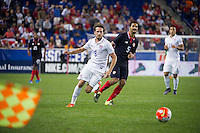 iHARRISON, NJ - Tuesday October 13, 2015: The United States Men's National Team (USMNT) loses 0-1 to the national team of Costa Rica at Red Bull Arena.