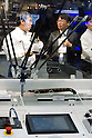 November 9th, 2011 : Tokyo, Japan &ndash; A newly invented robot performs during International Robot Exhibition 2011. This show is held to showcase new robots and high technology equipments at the Tokyo International Exhibit Center. International Robot Exhibition 2011 runs from November 9 &ndash; 12. (Photo by Yumeto Yamazaki/AFLO)