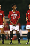 04 September 2015: NC State's Ella Bonner. The North Carolina State University Wolfpack hosted the Oregon University Ducks at Dail Soccer Field in Raleigh, NC in a 2015 NCAA Division I Women's Soccer game. NC State won the game 2-0.