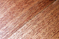FRICTION - TWO SURFACES THAT RUB AGAINST EACH OTHER<br /> (1 of 2)<br /> Two Pieces Of Wood Apparently In Contact<br /> Friction, resistance offered to the movement of one body past another body with which it is in contact, is lessened by the smoothness of the contact surfaces.