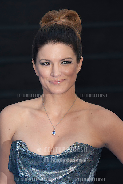 Gina Carano arriving for the 'Fast And Furious 6' Premiere, at Empire Leicester Square, London. 07/05/2013 Picture by: Simon Burchell / Featureflash