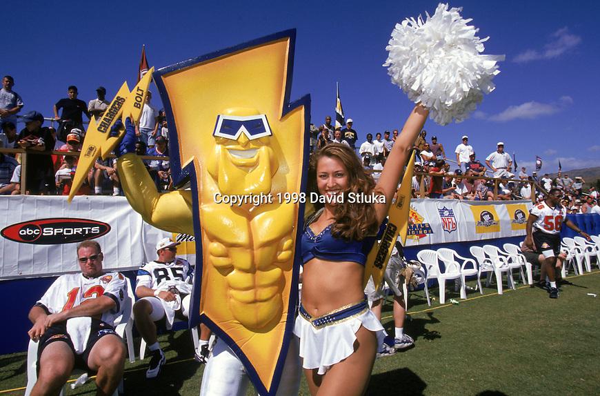 San Diego Cheerleader David Stluka Photography