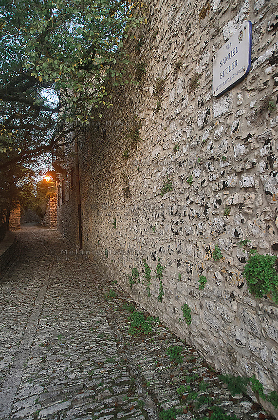Borgo di Erice, vicolo.<br />