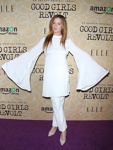 NEW YORK, NY-October 18:Grace Gummer  at Amazon Originasl Series Good Girls Revolt screening  at the Joseph Urban Theater at Hearst Tower in New York.October 18, 2016. Credit:RW/MediaPunch