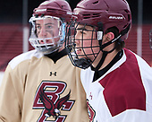Michael Kim (BC - 4) - The Boston College Eagles practiced at Fenway on Friday, January 6, 2017, in Boston, Massachusetts.