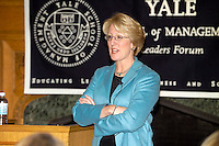 Anne Mulcahy, then CEO and former Chairman, Xerox Corporation, speaking at the Yale School of Management Leaders Forum 1 February 2005