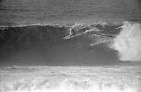 Mark MR Richards (AUS), four times World Surfing Champion, during the running of the 1976 Bells Beach Easter rally, Bells Beach, Torquay, Victoria, Australia.  Photo: joliphotos.com