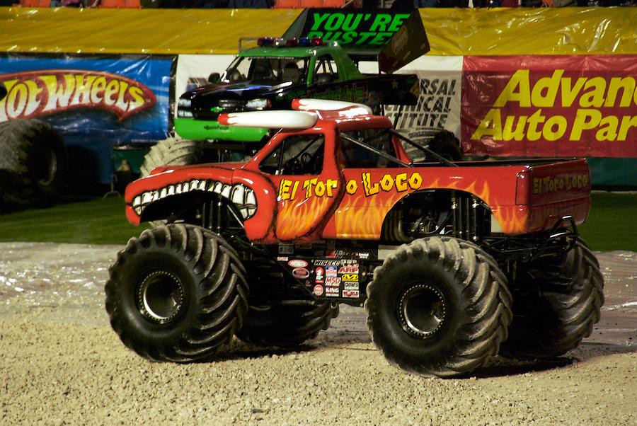 Monster Jam Truck Show in Miami, February 2007