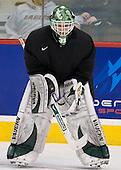 Landon Snider (North Dakota 31) - The 2008 Frozen Four participants practiced on Wednesday, April 9, 2008, at the Pepsi Center in Denver, Colorado.