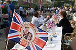 ROYAL WEDDING 2011 STREET PARTY LONDON ENGLAND