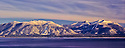Lake Tahoe Scenic Southshore WInter Mountains