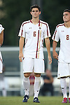 23 September 2016: Boston College's Henry Balf. The University of North Carolina Tar Heels hosted the Boston College Eagles in Chapel Hill, North Carolina in a 2016 NCAA Division I Men's Soccer match. UNC won the game 5-0.