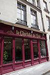 La Charlotte de l'Isle, tearoom and chocolate shop, Rue Saint-Louis en L'ile, Ile Saint-Louis, Paris, France, Europe