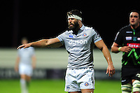 Guy Mercer of Bath Rugby. European Rugby Challenge Cup match, between Pau (Section Paloise) and Bath Rugby on October 15, 2016 at the Stade du Hameau in Pau, France. Photo by: Patrick Khachfe / Onside Images