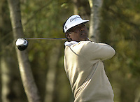 Photo Peter Spurrier.17/10/2002 Thur.CISCO World Matchplay Championships - Wentworth.Vijay Singh..[Mandatory Credit Peter Spurrier/ Intersport Images]