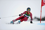 9 MAR 2011: Seppi Stiegler of the University of Denver competes in the men's giant slalom alpine race during the 2011 NCAA Men and Women's Division I Skiing Championship held Stowe Mountain Resort and Trapp Family Lodge in Stowe, VT. Stiegler placed first to win the national title. ©Brett Wilhelm/NCAA Photos