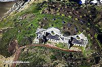 aerial photograph Presidio GGNRA park San Francisco California