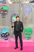 LONDON, ENGLAND - AUGUST 3: Jay Hernandez attending the 'Suicide Squad' European Premiere at Odeon Cinema, Leicester Square on August 3, 2016 in London, England.<br /> CAP/MAR<br /> &copy;MAR/Capital Pictures /MediaPunch ***NORTH AND SOUTH AMERICAS ONLY***