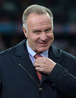 FUSSBALL   CHAMPIONS LEAGUE   SAISON 2013/2014   Vorrunde FC Bayern Muenchen - ZSKA Moskau       17.09.2013 Karl-Heinz Rummenigge