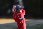 30 October 2016: Liberty University's Mickey DeMorat. The First  and Second Rounds of the 2016 Bridgestone Golf Collegiate NCAA Men's Golf Tournament hosted by the University of North Carolina Greensboro Spartans was held on the West Course at the Grandover Resort in Greensboro, North Carolina.
