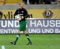 Fussball, 2. Bundesliga, Saison 2011/12, SG Dynamo Dresden - MSV Duisburg, Freitag (24.02.12), gluecksgas Stadion, Dresden. Dresdens Torwart Axel Mittag.