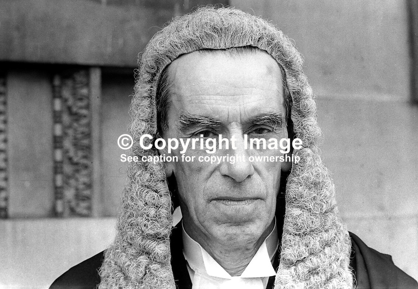 Professor Francis Newark, QC, Queen's University, Belfast, N Ireland, 197200100339<br /> <br /> Copyright Image from Victor Patterson, 54 Dorchester Park, Belfast, UK, BT9 6RJ<br /> <br /> t1: +44 28 9066 1296 (from Rep of Ireland 048 9066 1296)<br /> t2: +44 28 9002 2446 (from Rep of Ireland 048 9002 2446)<br /> m: +44 7802 353836<br /> <br /> e1: victorpatterson@me.com<br /> e2: victorpatterson@gmail.com<br /> <br /> The use of my copyright images is subject to my Terms &amp; Conditions.<br /> <br /> It is IMPORTANT that you familiarise yourself with them. They are available on my website at www.victorpatterson.com.<br /> <br /> None of my copyright images may be used on a website unless they are visibly watermarked, i.e. &copy; Victor Patterson within the body of the visible image. Metadata denoting my copyright must NOT be deleted. <br /> <br /> Web use is extra at currently recommended NUJ rates.