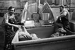 Asian male factory workers Bradford Yorkshire UK 1983