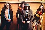 Led Zeppelin 1970 Robert Plant, John Bonham, Jimmy Page and John Paul Jones at Bath Festival
