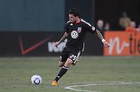 D.C. United midfielder Santino Quaranta (25). D.C. United defeated The Vancouver Whitecaps FC 4-0 at RFK Stadium, Saturday August 13 , 2011.
