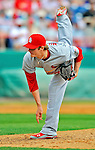 7 March 2012: St. Louis Cardinals pitcher Shelby Miller on the mound against the Washington Nationals at Space Coast Stadium in Viera, Florida. The teams battled to a 3-3 tie in Grapefruit League Spring Training action. Mandatory Credit: Ed Wolfstein Photo