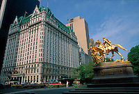 Plaza Hotel, designed by Henry J. Hardenbergh &amp; Thomas Hastings, Cornelius Vanderbilt II, designed by George Browne Post, Manhattan, New York City, New York
