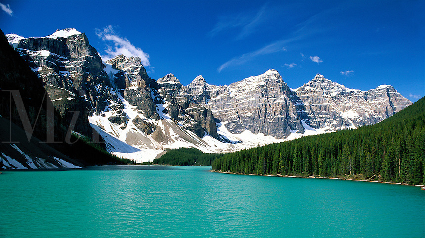 Canada, Alberta, Banff National Park. Valley of the Ten Peaks and Moraine Lake
