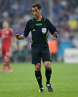 FUSSBALL   SAISON 2011/2012   CHAMPIONS LEAGUE FINALE FC Bayern Muenchen - FC Chelsea  19.05.2012 Schiedsrichter Pedro Porenca