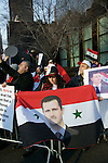 Syrian fighting front of UN