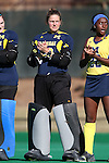 15 November 2015: Michigan's Chris Lueb (NED). The University of North Carolina Tar Heels played the University of Michigan Wolverines at Francis E. Henry Stadium in Chapel Hill, North Carolina in a 2015 NCAA Division I Field Hockey Tournament Quarterfinal match. UNC won the game 1-0.