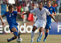 Stefan Jerome. Italy defeated the US Under-17 Men's National Team 2-1 in Kaduna, Nigera on November 4th, 2009.