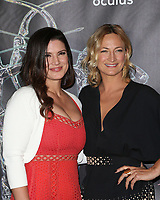 BEVERLY HILLS, CA - April 20: Gina Carano, Zoe Bell, At Artemis Women in Action Film Festival - Opening Night Gala At The Ahrya Fine Arts Theatre In California on April 20, 2017. Credit: FS/MediaPunch