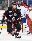 Anthony Bitetto (Northeastern - 7) - The visiting Northeastern University Huskies defeated the University of Massachusetts-Lowell River Hawks 3-2 with 14 seconds remaining in overtime on Friday, February 11, 2011, at Tsongas Arena in Lowelll, Massachusetts.